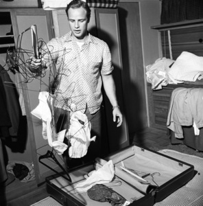 Marlon Brando at his Beverly Glen home in Los Angeles1953© 1978 Sid Avery - Image 0007_0003