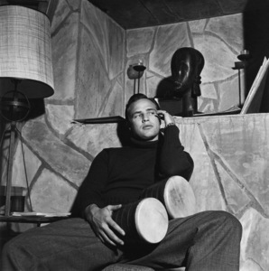 Marlon Brando at his Beverly Glen home in Los Angeles1953© 1978 Sid Avery - Image 0007_0044