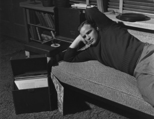 Marlon Brando at his Beverly Glen home in Los Angeles 1953 © 1978 Sid Avery - Image 0007_0047