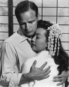 "Marlon Brandoand Miiko Taka in ""Sayonara""1957 Warner Bros.Photo by Bert SixMPTV - Image 0007_0081"