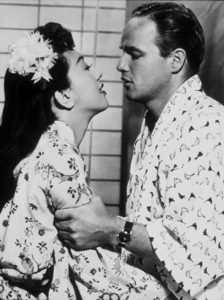 "Marlon Brandowith Miiko Taka in ""Sayonara""1957 Warner Bros.Photo by Bert SixMPTV - Image 0007_0086"