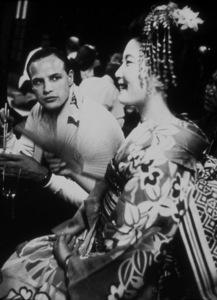 "Marlon Brandoon the set of ""Sayonara""1957 © 1978 Sanford RothMPTV - Image 0007_1002"