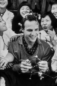 "Marlon Brando in Japan during filming of""Teahouse of the August Moon, The""1956 © 1978 Sanford RothMPTV - Image 0007_1003"