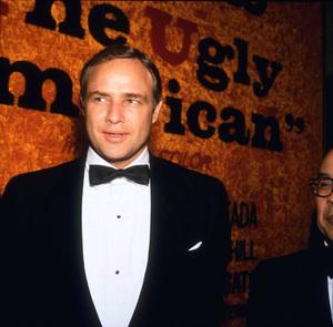 "Marlon Brandoat the ""Ugly American"" premiere1962 © 1978 Bernie AbramsonMPTV - Image 0007_1012"