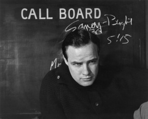 Marlon Brando1956 © 1978 Sanford Roth / AMPAS - Image 0007_1020
