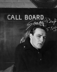 Marlon Brando1956 © 1978 Sanford Roth / AMPAS - Image 0007_1022