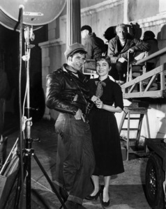 "Marlon Brando with sister JocelynOn the set of ""The Wild One""1954 ColumbiaPhoto By Van Pelt / **I.V. - Image 0007_1044"