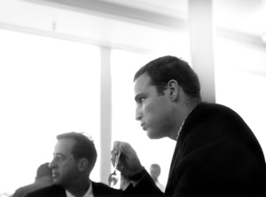 Marlon Brando eating at the commissary1955© 1978 Bob Willoughby - Image 0007_1070