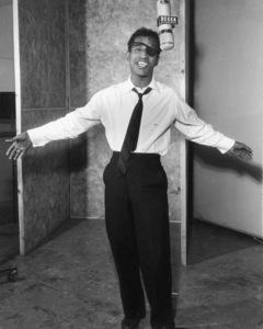 Sammy Davis Jr. in a recording session, 1954. © 1978 David Sutton - Image 0009_0050