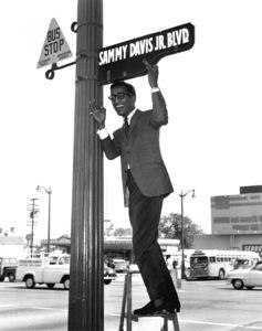 Sammy Davis Jr., c. 1957.Photo by Bert Mittleman - Image 0009_0453