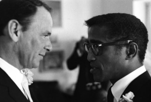 Sammy Davis Jr. and Frank Sinatra on Sammy