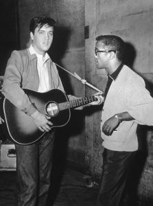 Sammy Davis Jr. with Elvis Presleycirca 1958 © 1978 Bernie Abramson - Image 0009_0516