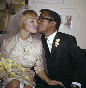 Sammy Davis Jr. and May Britt on their wedding day11-13-1960 © 1978 David Sutton - Image 0009_2183