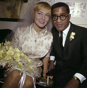 Sammy Davis Jr. and May Britt on their wedding day11-13-1960 © 1978 David Sutton - Image 0009_2184