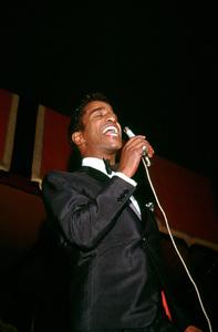 Sammy Davis Jr. performing at Moulin Rouge,c. 1957. © 1978 Bernie Abramson - Image 0009_2190