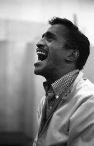Sammy Davis Jr. during a recording session1960 © 1978 Bernie Abramson - Image 0009_2246