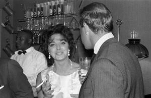 Joan Collins at a party1955 © 1978 Bernie Abramson - Image 0009_2260