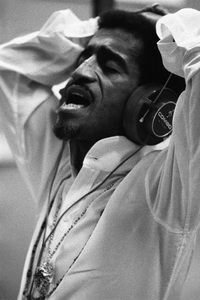 Sammy Davis Jr. at a recording session1968 © 1978 Ed Thrasher - Image 0009_2279