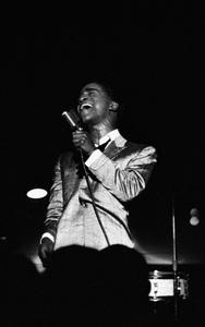Sammy Davis Jr. performing at Ciro