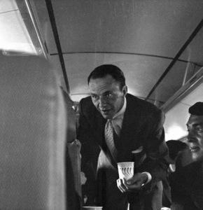 Frank Sinatra and Dean Martincirca 1955 © 1978 Bernie Abramson - Image 0009_2296