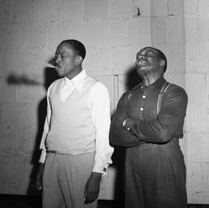 Sammy Davis Sr. and Will Mastin circa 1955 © 1978 Bernie Abramson - Image 0009_2297