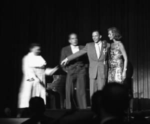 Humphrey Bogart, Frank Sinatra and Lauren Bacallcirca 1955 © 1978 Bernie Abramson - Image 0009_2298