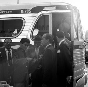 Eddie Fisher, Frank Sinatra and Humphrey Bogart circa 1955 © 1978 Bernie Abramson  - Image 0009_2307