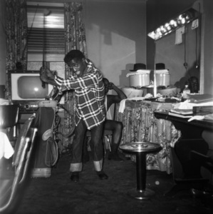Sammy Davis Jr. and Will Mastincirca 1950s © 1978 Bernie Abramson - Image 0009_2308