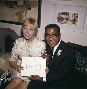 Sammy Davis Jr. and May Britt on their wedding day11-13-1960 © 1978 David Sutton - Image 0009_2325