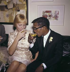 Sammy Davis Jr. and May Britt on their wedding day11-13-1960 © 1978 David Sutton - Image 0009_2327