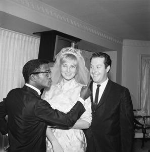 Arthur Silber Jr. at Sammy Davis Jr.