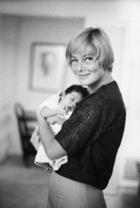 May Britt, and her daughter, Tracey Davis 1961 © 1978 Bernie Abramson - Image 0009_2505