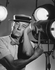 """Buster Keaton from """"Playhouse 90"""" (Episode: The Innocent Sleep)1958Photo by Gabi Rona - Image 0014_0406"""