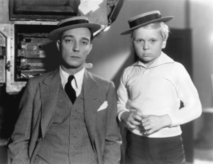Buster KeatonWith Jackie CooperCirca 1932Photo by William Grimes / **I.V. - Image 0014_0635