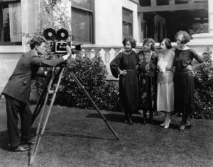 Buster Keaton, Norma Talmadge, Peg Talmadge, Natalie Talmadge, Constance TalmadgeCirca 1920**I.V. - Image 0014_0664