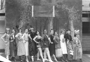 """""""The Playhouse""""Buster Keaton and a group of unknown women1921**I.V. - Image 0014_0673"""