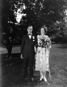Buster Keaton and Natalie Talmadge on their wedding day1921** I.V. - Image 0014_0703