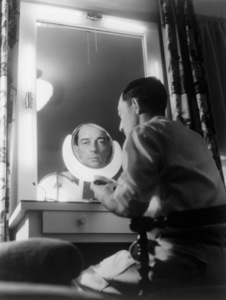 Buster Keaton in his bungalow at MGMcirca 1929Photo by George Hurrell** I.V. - Image 0014_0712