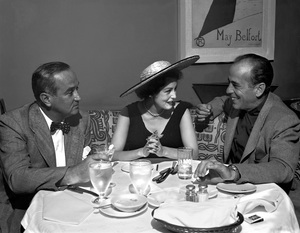 Humphrey Bogart at Romanoff
