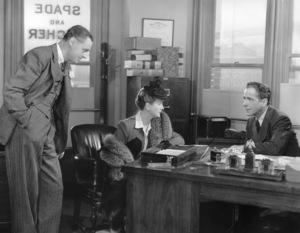 """The Maltese Falcon""Jerome Cowan, Mary Astor, Humphrey Bogart1941 - Image 0015_0112"