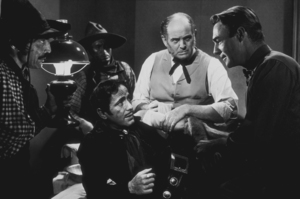 "Humphrey Bogart and Randolph Scott in ""Virginia City,"" 1940 Warner Bros.MPTV - Image 0015_0761"