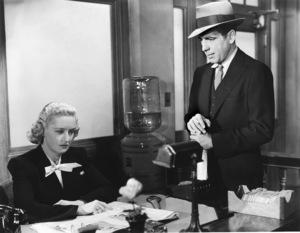 """The Maltese Falcon"" Lee Patrick, Humphrey Bogart 1941 - Image 0015_0807"