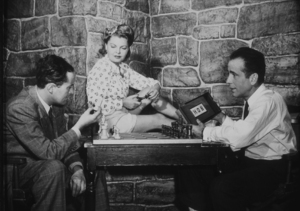 Humphrey Bogart and his third wife, Mayo Methot, circa the early 1940s.MPTV - Image 0015_1020
