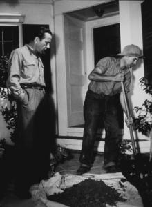 Humphrey Bogart at home in Hollywood, CA, 1948 Warner Bros.MPTV - Image 0015_1032