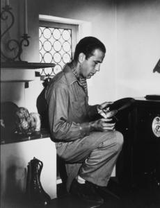 Humphrey Bogart at home, circa 1938.MPTV - Image 0015_1034