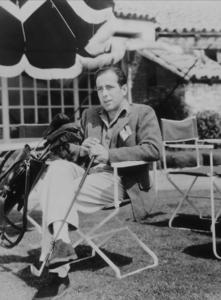 Humphrey Bogart at Beverly Hills country club, 1942 Warner Bros.MPTV - Image 0015_1054