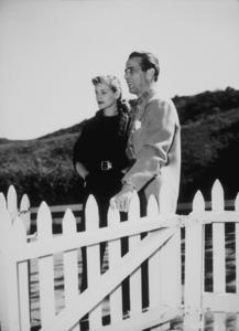 Humphrey Bogart and Lauren Bacall at their Benedict Canyon home, CA, circa 1945.MPTV - Image 0015_1079