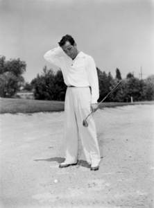 Humphrey Bogart golfingcirca 1949 - Image 0015_1130