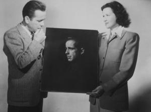 Humphrey Bogart, circa 1945.MPTV - Image 0015_1147