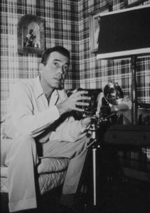 Humphrey Bogart at home, circa 1945.MPTV - Image 0015_1178